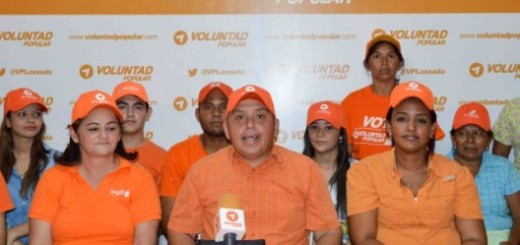 Dirigentes de Voluntad Popular en el municipio Jesús Enrique Lossada