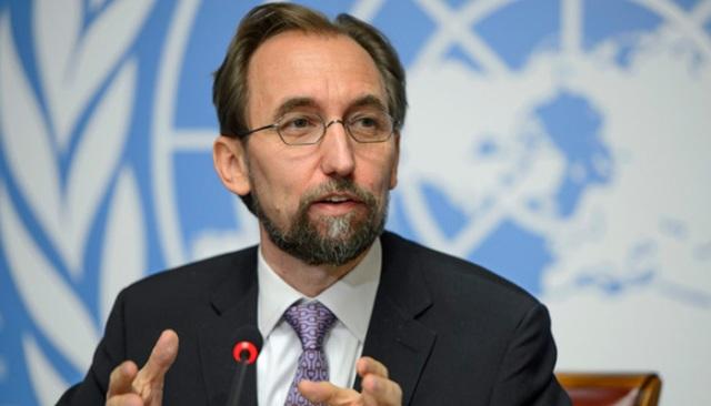 Zeid Ra'ad Al Hussein jefe de Derechos Humanos de la Organización de Naciones Unidas (ONU)