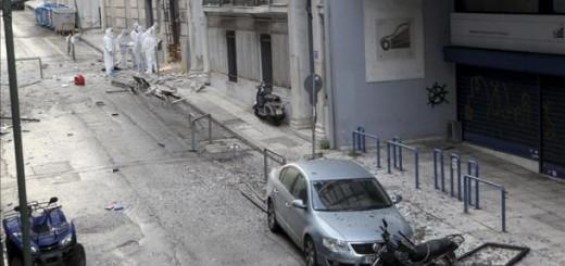 Un artefacto estalla ante la federación empresarial en Atenas sin causar víctimas