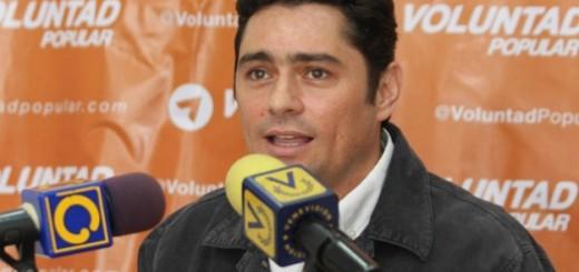 Carlos Vecchio, Coordinador político de Voluntad Popular