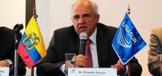 Ernesto Samper, Secretario General de la Unasur | Foto: Archivo