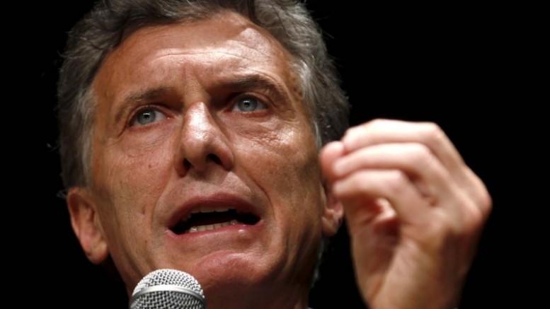 El presidente de Argentina, Mauricio Macri   Foto: Archivo