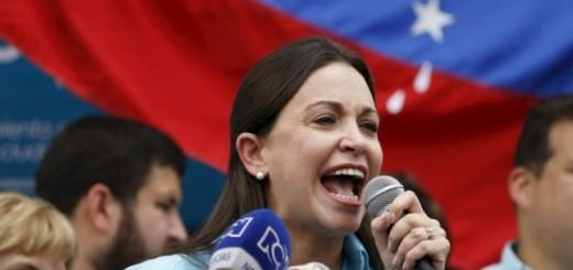 Dirigente política María Corina Machado   Foto: Archivo
