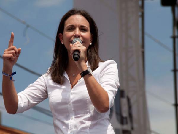 La lider opositora, María Corina Machado|Foto: Archivo