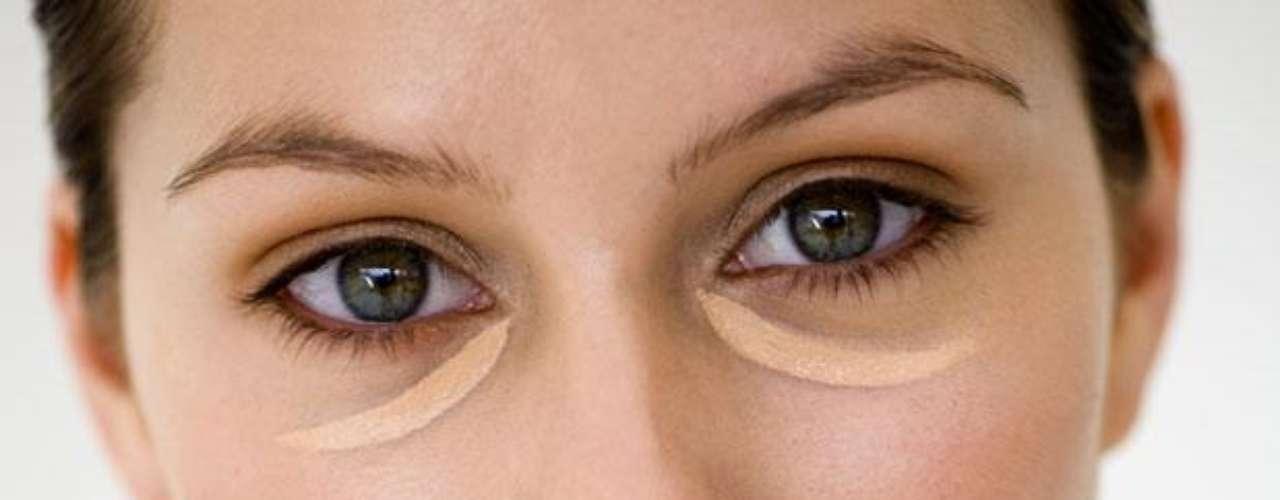 Как замаскировать темные круги под глазами фото