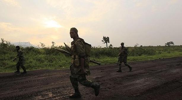 Fuerzas rebeldes del Congo