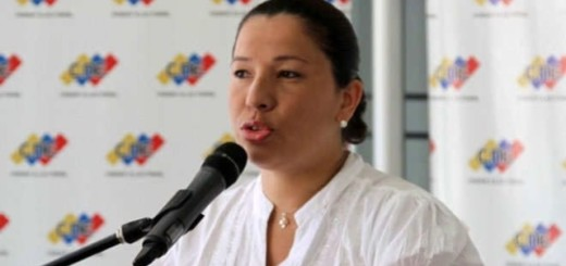 Tania D'Amelio, Rectora del Consejo Nacional Electoral (CNE) |Foto archivo