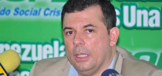 Roberto Enríquez, dirigente de Copei   Foto: Archivo