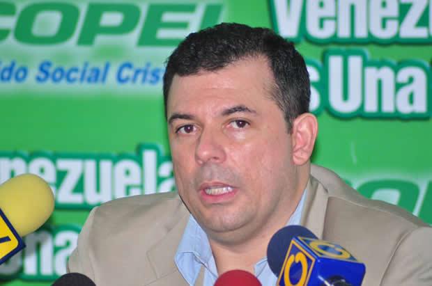 Roberto Enríquez, dirigente de Copei | Foto: Archivo