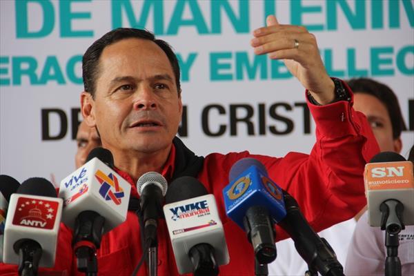 El gobernador del Táchira, José Gregorio Vielma Mora|Foto: Archivo