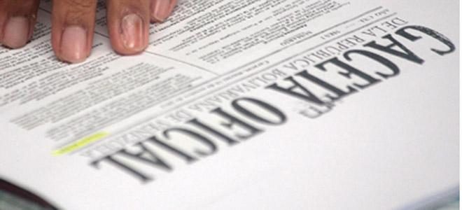 La extensión del decreto se hizo pública en la Gaceta Oficial extraordinaria No. 6256