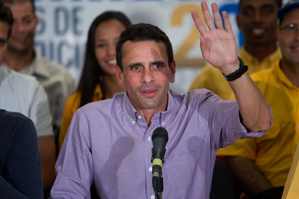 Henrique Capriles|Foto: Archivo