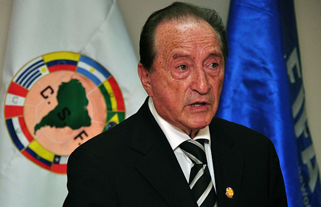El ex presidente de la Confederación Sudamericana de Fútbol