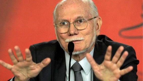 Jorge Giordani, exministro de Planificación y Finanza