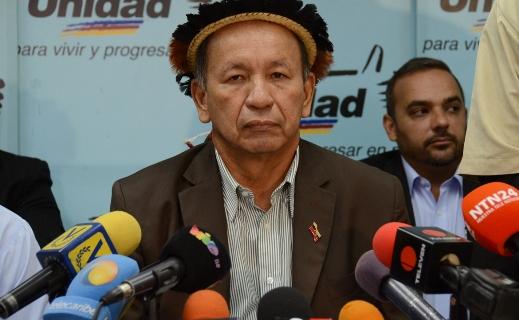Liborio Guarulla, Gobernador del estado Amazonas