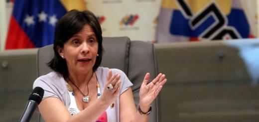 Vicepresidenta del CNE, Sandra Oblitas |Foto: Cortesía
