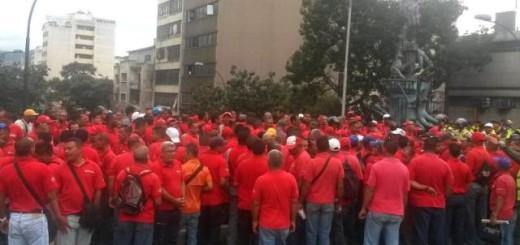 Trabajadores de PDVSA Gas Comunal