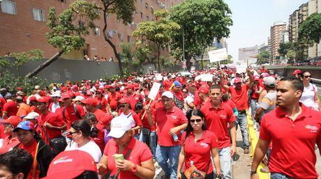 Empleados públicos aseguran que son presionados a asistir a actos del Gobierno  Foto: El Nacional