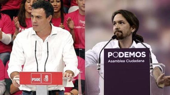 """PSOE y Podemos, anunciaron que votarán """"no"""" a un ejecutivo liderado por el conservador Mariano Rajoy"""