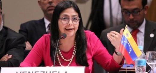 Canciller de la República de Venezuela, Delcy Rodríguez |Foto: Archivo