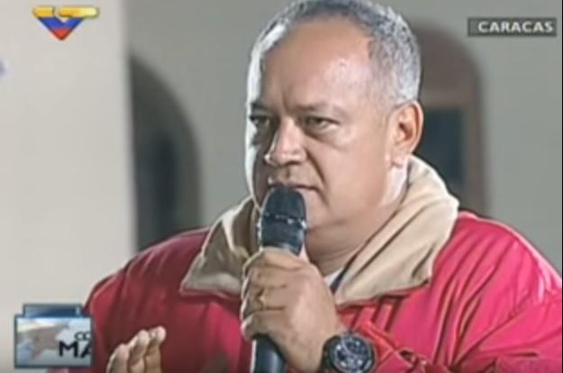 Diosdado Cabello  Foto: Referencial
