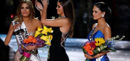 Bochornoso error durante la celebración del Miss Universo