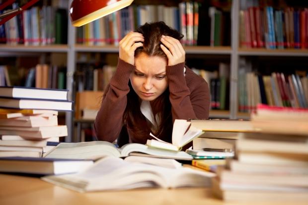 estres por estudios