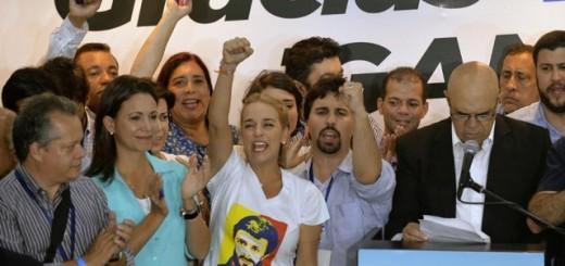 VENEZUELA-ELECTION-TINTORI