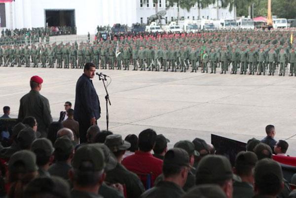 """""""Se hablará en los años que están por venir de la Fuerza Armada fundada por Hugo Chávez"""""""