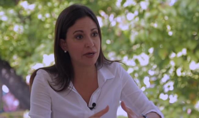 Líder opositora, María Corina Machado   Foto: Archivo