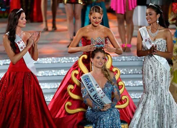 Miss España, Mireia Lalaguna fue coronada Miss Mundo en la edición número 65 del certamen