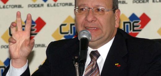 Vicente Díaz, exrector del CNE |Foto Archivo