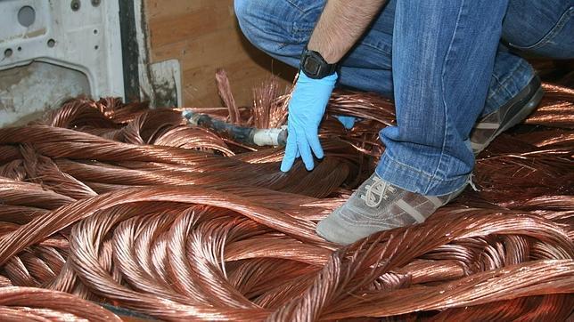 Aruba prohíbe la importación de cobre venezolano  Foto archivo