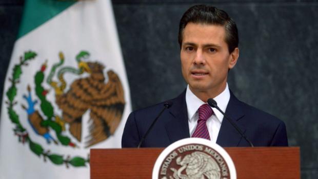 Enrique Peña Nieto, presidente de México  Foto archivo