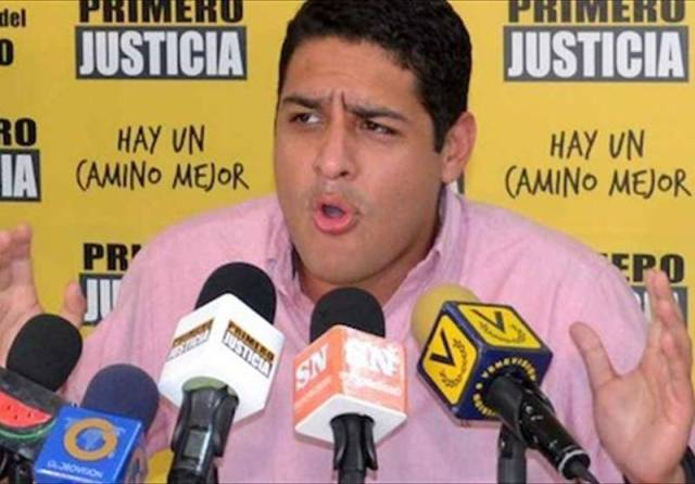 Jóse Manuel Olivares, ex candidato a la gobernación de Vargas | Foto: Archivo