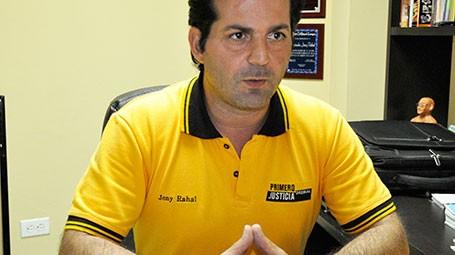 Jony Rahal diputado de la Asamblea Nacional por la MUD | Foto: Archivo