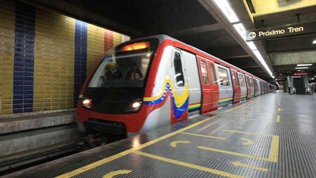 Al menos 12 estaciones del Metro de Caracas se encuentran cerradas este martes   Foto referencial