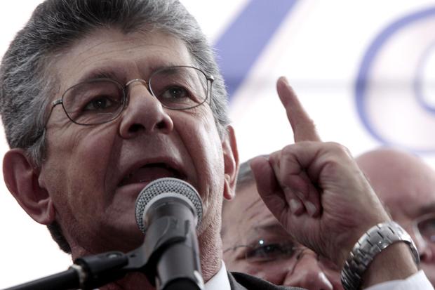 Presidente de la Asamblea Nacional, Ramos Allup   Foto: Archivo