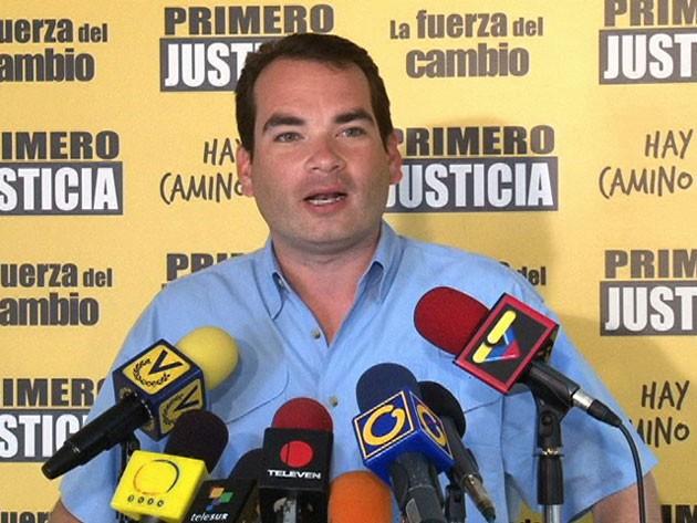 Tomás Guanipa, Presidente de la Comisión de Medios y Comunicación de la AN | Foto: Archivo