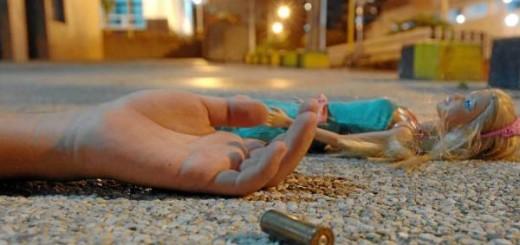 Muere niña de 13 años por bala perdida