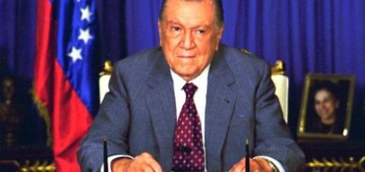 Fallecido expresidente de Venezuela, Rafael Caldera