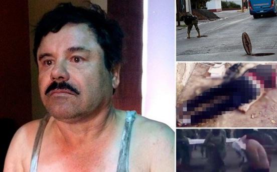 """El video que muestra el operativo de recaptura de """"El Chapo"""" Guzmán"""