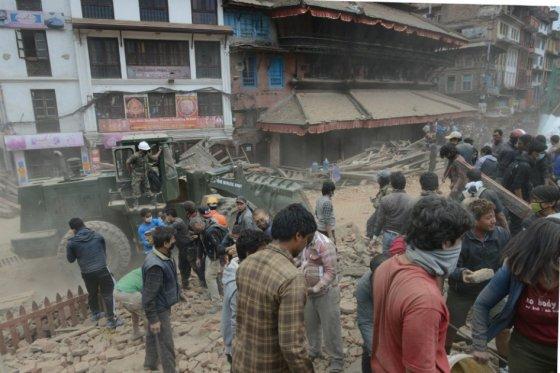 Catástrofe en Nepal