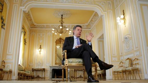 Presidente de Colombia, Juan Manuel Santos | Crédito: Fernando Vergara / AP