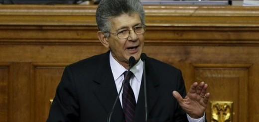 Presidente de la Asamblea Nacional Ramos Allup