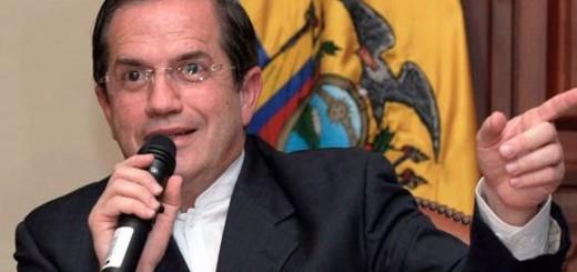 Canciller ecuatoriano, Ricardo Patiño | Foto: Archivo