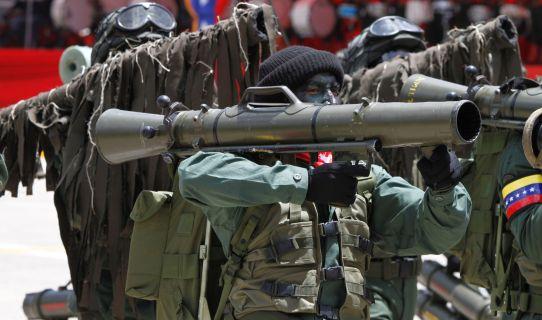 Venezuela gastó 162 millones de dólares en la adquisición de armas durante el año 2015 / Imagen de referencia