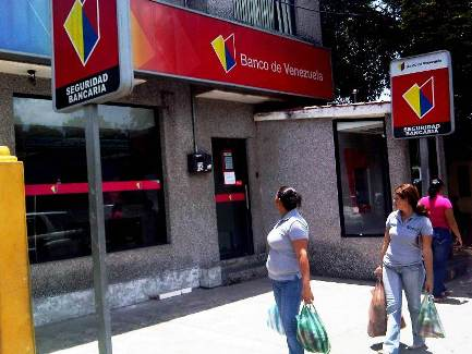 Pasos para solicitar empleo en el Banco de Venezuela  Foto referencia