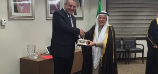 Autoridades de Venezuella y Arabia Saudita conversaron acerca de la situación del mercado petrolero   Foto:Twitter