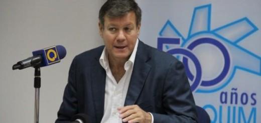 Juan Pablo Olalquiaga, Presidente de Conindustria / Foto: Cortesía